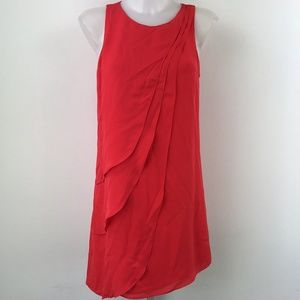 Parker Orange Sleeveless Dress Size XS